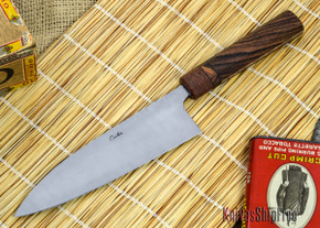 Carter Cutlery: Custom 5.7 Sun High Grade Gyuto - Custom Handle
