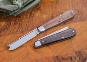 Great Eastern Cutlery: #15 Tidioute - Huckleberry Boy's Knife - Ebony Wood