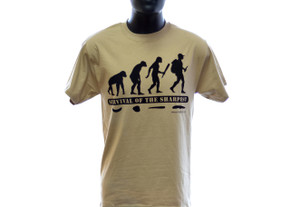 Knife T- Shirt: Survival of the Sharpest - Evolution