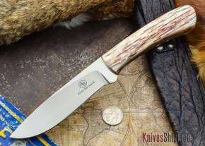 Arno Bernard Knives: Giant Series - Buffalo - Giraffe Bone Handle - #2