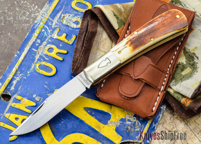 Northwoods Knives: Madison Barlow - Clip Point -  Mammoth Ivory - XX