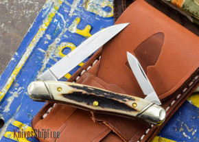 Northwoods Knives: Norfolk - Burnt Stag - #62