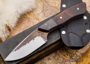 Carter Cutlery: Kajiki - Hand Forged Custom - Red Liners - #63