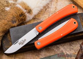 Great Eastern Cutlery: #21 - Farm & Field - Bull Buster - Orange Delrin