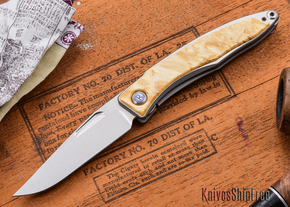 Chris Reeve Knives: Mnandi - Box Elder Burl - K