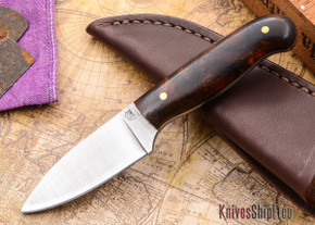 L.T. Wright Knives: Patriot - Desert Ironwood - Flat Ground - D2 Steel - #87