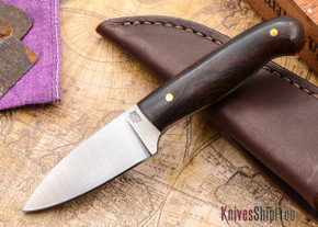 L.T. Wright Knives: Patriot - Desert Ironwood - Flat Ground - D2 Steel - #89