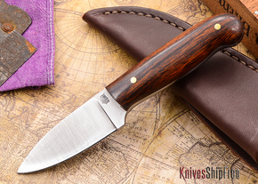 L.T. Wright Knives: Patriot - Desert Ironwood - Flat Ground - D2 Steel - #90