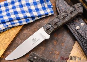 Arno Bernard Knives: Predator Series - Croc - Croc Hide Handles