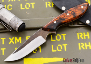 Carter Cutlery: Muteki - Original - Arizona Desert Ironwood Burl - #20