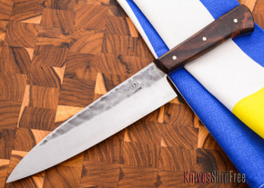 Carter Cutlery: Muteki - Funayuki Kitchen Knife - Arizona Desert Ironwood