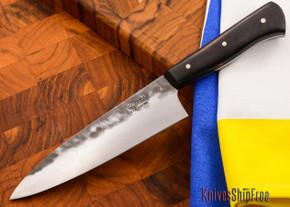 Carter Cutlery: Muteki - Funayuki Kitchen Knife - Arizona Desert Ironwood