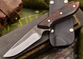 Carter Cutlery: Muteki - Original Neck Knife - Arizona Desert Ironwood - #31