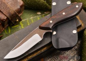 Carter Cutlery: Muteki - Original Neck Knife - Arizona Desert Ironwood - #35