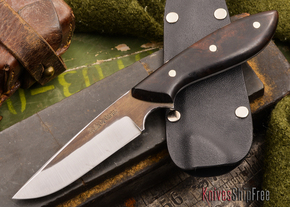 Carter Cutlery: Muteki - Original Neck Knife - Arizona Desert Ironwood - #38