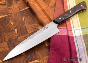 Carter Cutlery: 186mm Muteki - Funayuki Kitchen Knife - Arizona Desert Ironwood