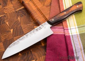 Carter Cutlery: 164mm Muteki - Wa-bocho Kitchen Knife - Arizona Desert Ironwood