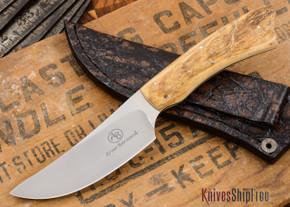 Arno Bernard Knives: Grazer - Springbok - Mammoth Ivory - 121908
