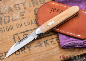 Northwoods Knives: 2nd Forest Jack - Wharncliffe - Mammoth Ivory - #01