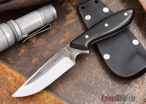 Carter Cutlery: Muteki - Original Neck Knife - Arizona Desert Ironwood - 10302