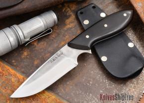 "Carter Cutlery: Muteki - Murray's ""Perfect"" Model Neck Knife - Arizona Desert Ironwood - 10306"