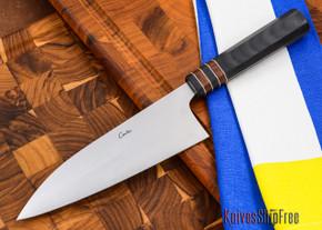 Carter Cutlery: High Grade Funayuki Kitchen Knife - Premium Hardwood - 10502