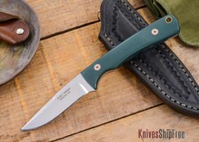 Alan Warren Knives: Custom Neck Knife - Forest G-10 - #1821
