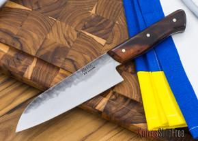 Carter Cutlery: Muteki Series - Nakiri Kitchen Knife - Arizona Desert Ironwood - 10504