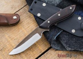 Carter Cutlery: Muteki - Original Neck Knife - Arizona Desert Ironwood - 22506