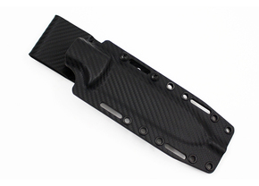 Ambush Knives: Kydex Sheath - Carbon Fiber