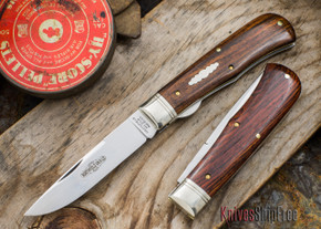 Great Eastern Cutlery: #73 - Northfield Un-X-LD - Trapper - Liner Lock - Cocobolo