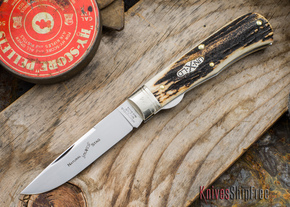 Great Eastern Cutlery: #73 - Northfield Un-X-LD - Trapper - Liner Lock - Natural Stag - #24