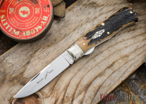 Great Eastern Cutlery: #73 - Northfield Un-X-LD - Trapper - Liner Lock - Natural Stag - #26