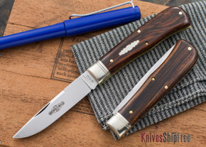 Great Eastern Cutlery: #73 - Northfield Un-X-LD - Trapper - Cocobolo