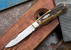 Great Eastern Cutlery: #73 - Northfield Un-X-LD - Trapper - Natural Stag - #50