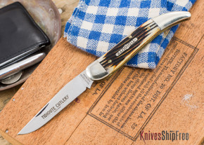 Great Eastern Cutlery: #12 - Toothpick - Tidioute - 2nd Cut Jigged Bone