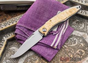 Chris Reeve Knives: Mnandi - Box Elder Burl - K
