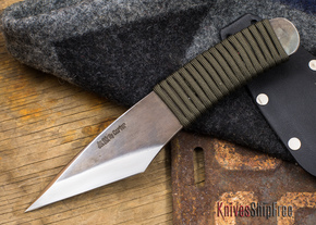 Carter Cutlery: Muteki Series - Kiridashi Model - Cord Wrapped Handle - 82613