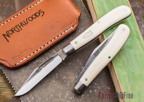 Northwoods Knives: Hawthorne - Clip Point - Elephant Ivory
