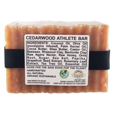 CEDARWOOD ATHLETE BAR 5.5 OZ SOAP