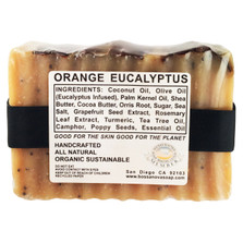 ORANGE EUCALYPTUS 5.5 OZ SOAP
