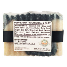 PEPPERMINT CHARCOAL & CLAY 5.5 OZ SOAP