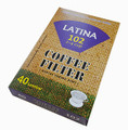LAtina 103 Filter 40pcs/bleached