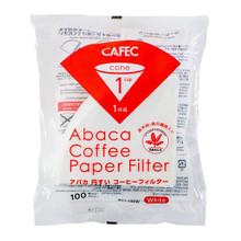CAFEC ABACA AC1-100W  v60-1 bleached 100P