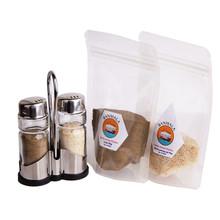 Paket Garam dan Lada (hitam) Dengan Shaker set
