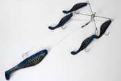 "7"" Mackerel Kayak Umbrella Rig"