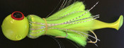 24oz chartreuse mojo with chartreuse silk shad