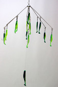 "22"" Chartreuse Umbrella Rig"