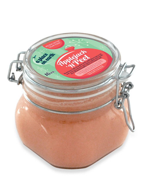 Sugar Scrub Apple Jack N' Peel 16 oz.