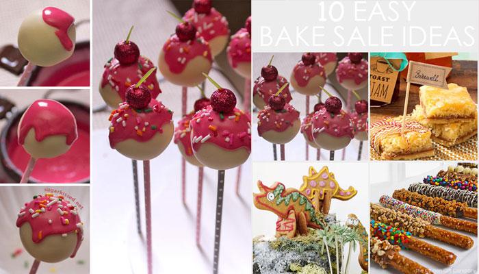 10 easy bake sale ideas for kids
